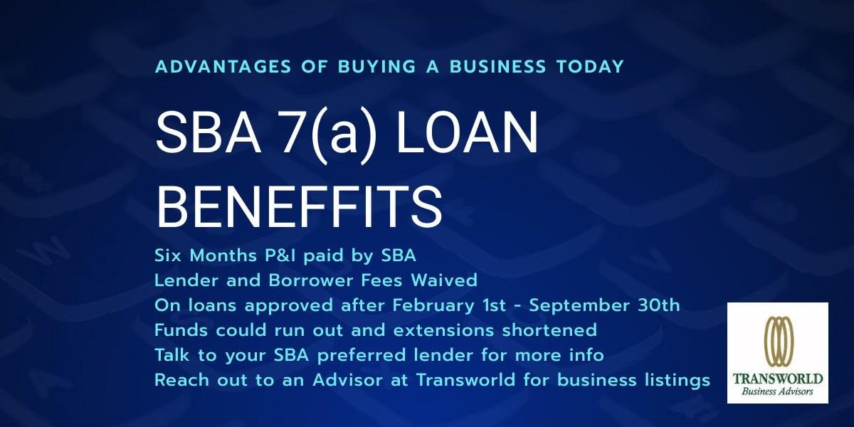 Cares Act SBA Loan Benefits