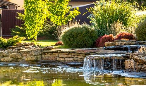 Landscaping - water feature 1