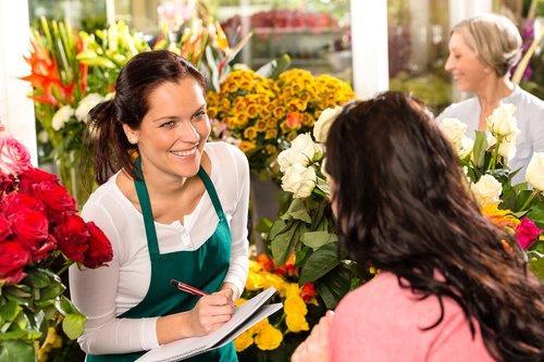 Flower Shop sales lady 1-1