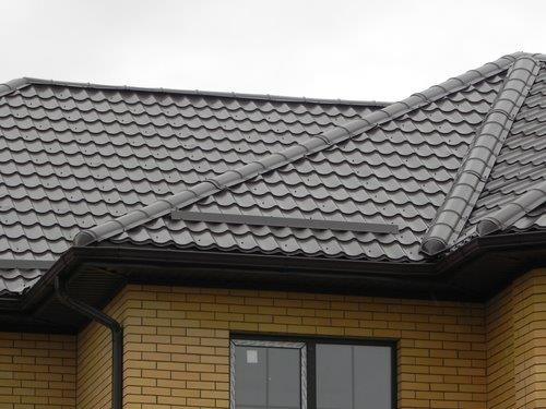 Roofing - Metal tile