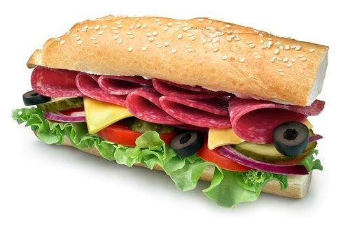 Subway Sandwich 1