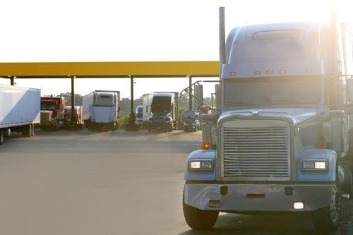 Truck Stop - getting diesel 1